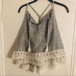Abercrombie and Fitch summer top